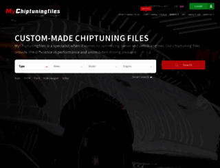 mychiptuningfiles.com screenshot