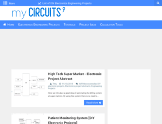mycircuits9.blogspot.com screenshot