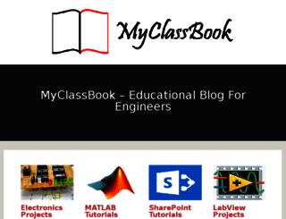 myclassbook.wordpress.com screenshot