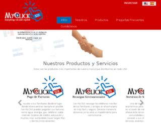 myclick123.com screenshot