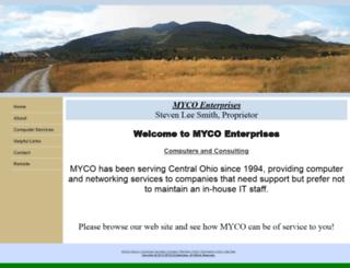 mycoenterprises.com screenshot