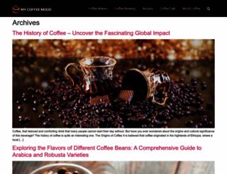 mycoffeemood.com screenshot