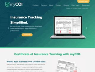 mycoitracking.com screenshot