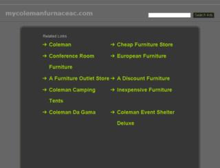 mycolemanfurnaceac.com screenshot