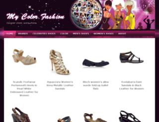 mycolorfashion.com screenshot