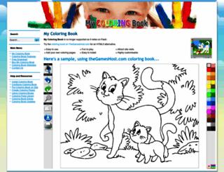 mycoloringbook.keasoftware.com screenshot