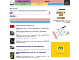 mycomlink.co.za screenshot