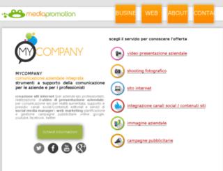 mycompany.mediapromotion.it screenshot