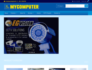 mycomputer.lk screenshot