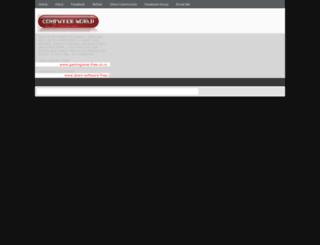 mycomputermyworld.blogspot.com screenshot