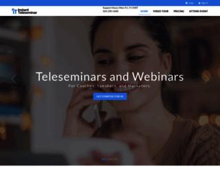 myconferenceline.com screenshot