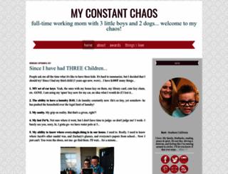myconstantchaos13.blogspot.com screenshot