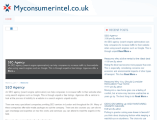 myconsumerintel.co.uk screenshot