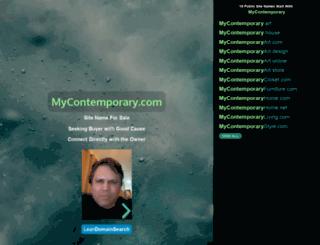 mycontemporary.com screenshot