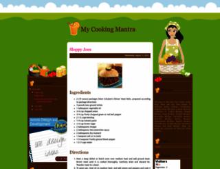 mycookingmantra.blogspot.com screenshot