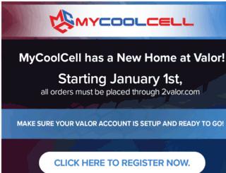 mycoolcell.net screenshot