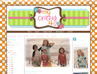 mycrazy4.blogspot.com screenshot