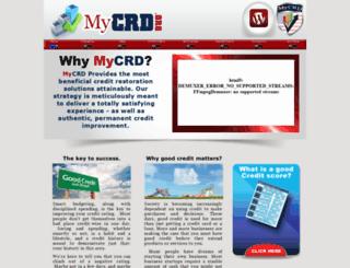 mycrd.org screenshot