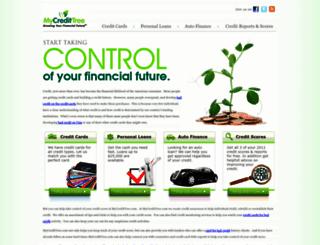 mycredittree.com screenshot