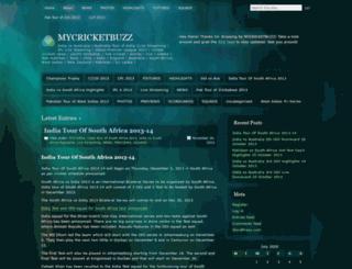 mycricketbuzz.wordpress.com screenshot