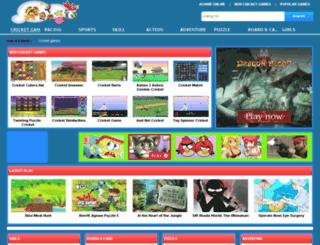 mycricketgames.com screenshot