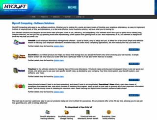 mycroftcomputing.com screenshot