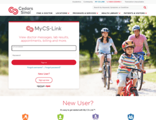 mycslink.org screenshot