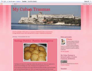 mycubantraumas.blogspot.com screenshot
