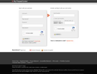mycurrentbalance.com screenshot