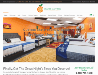 mycustombedding.com screenshot