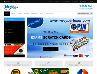mycyberteller.com screenshot