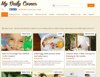 mydailycorner.com screenshot