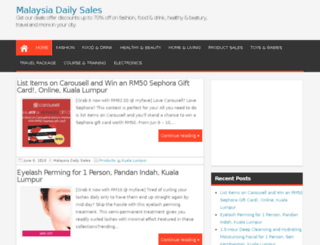 mydailysales.com screenshot
