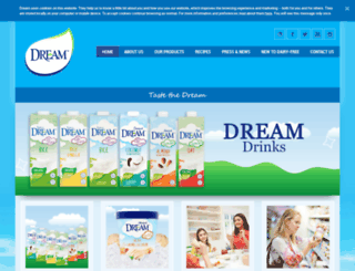 mydairyfreedream.com screenshot