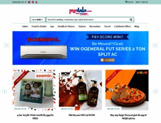 mydala.com screenshot