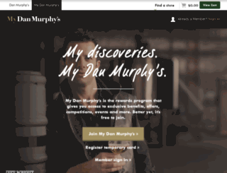 mydanmurphys.com.au screenshot