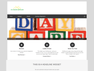 mydaycaresoftware.com screenshot