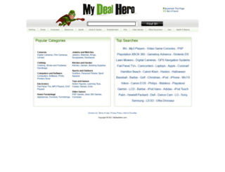 mydealhero.com screenshot
