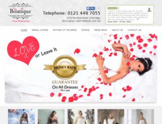 mydesignerweddingdress.co.uk screenshot