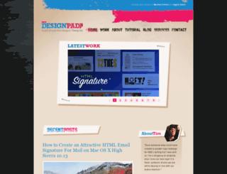 mydesignpad.com screenshot