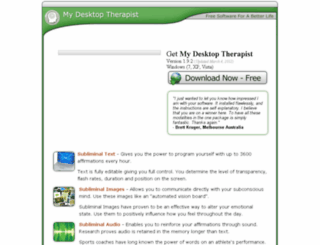 mydesktoptherapist.com screenshot