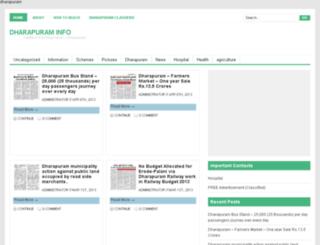 mydharapuram.com screenshot