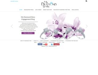 mydiamondstory.com screenshot