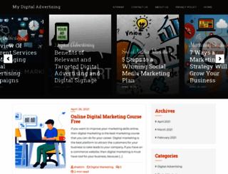 mydigitaladvertising.com screenshot
