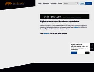 mydigitalchalkboard.org screenshot