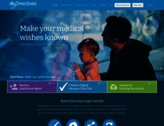 mydirectives.com screenshot