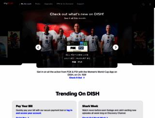 mydish.com screenshot