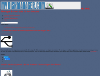 mydiskmanager.com screenshot