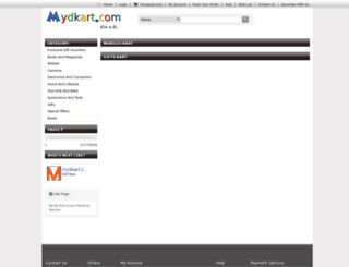 mydkart.com screenshot