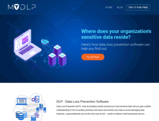 mydlp.com screenshot
